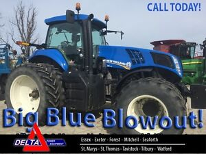 2014 New Holland T8.275 MFWD Cab Tractor