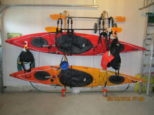 Two Kayaks Fully Equipped for Sale