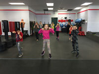 Kids Kickboxing/Fitness classes