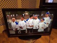 "37"" XENIUS LCD TV FULL HD BUILT IN FREEVIEW"