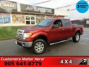 "2014 Ford F-150 XTR  4X4  KEYLESS-PAD SYNC BT SIDE-STEPS 18""-CHR"