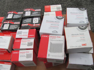 ASSORTMENT OF BRAND NEW ALARM SYSTEM SIRENS