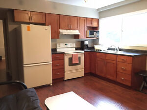 TWO-BEDROOM FURNISHED SUITE – UVIC AREA