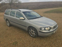 2002 Volvo V70 2.4 D5 S DIESEL AUTOMATIC ESTATE GOOD WORK HORSE