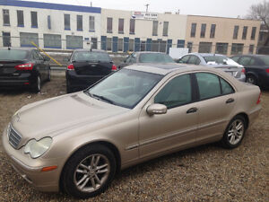 2004 MERCEDES BENZ C-CLASS ...VERY CLEAN IN & OUT...