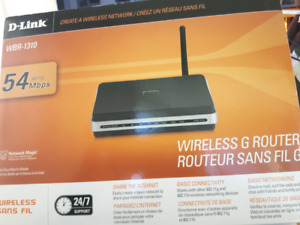 D-Link WBR-1310 54 Mbps 4-Port 10/100 Wireless G Router