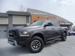Dodge Ram 1500 REBEL, CREW, BTE 5,7, CUIR, GPS, SUSP. À AIR 2016