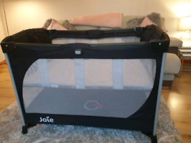 Joie Travel Cot with bassinet