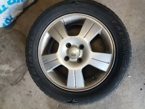 Set of 2 Triange Tires on Aluminum Rims