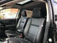 2016 Mitsubishi Outlander 2.0 GX4hs CVT 4x4 5dr (5 seats) PETROL/ELECTRIC black