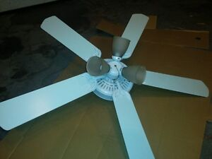 "52 "" White Ceiling Fan"