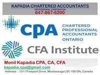 Tax Accountant Mississauga & Toronto  CPA, CA