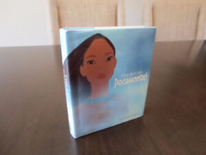 The Art of Pocahontas - small sized book - amazing artwork