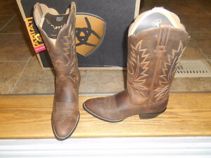 NEW! ARIAT Cowboy Boots  (Mens and Ladies)