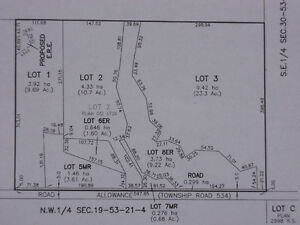 Three Prime Country Estate Lots ($299-499 K.)