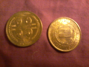 Beatles coins