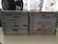 22 Nintendo Wii Games!!!! JOBLOT