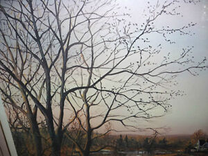"Peter Robson ""Prelude To Spring"" Signed and Numbered Print Stratford Kitchener Area image 7"