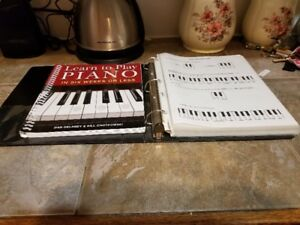 Learn To Play Piano Books And Music