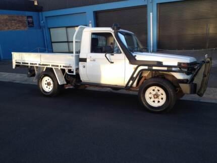 2001 Toyota LandCruiser Turbo Ute Torrington Toowoomba City Preview