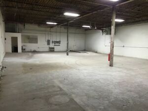 Industrial warehouse space for rent or sale