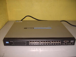 Cisco SRW224P - Managed 24-Port POE 10/100+2-Port Gigabit Switch