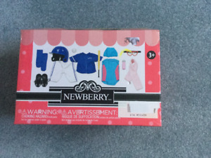 "18"" Newberry doll accessories"