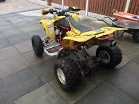 Suzuki ltz400 unfinished project all parts there
