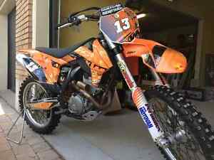 Perfect condition KTM sf-x 250