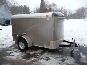 ENCLOSED CARGO TRAILER 5 FT X 8 FT
