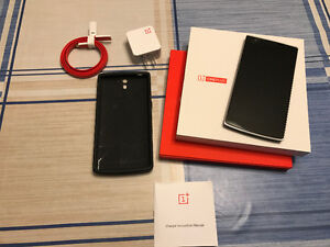 OnePlus One 64GB Unlocked - LIKE NEW - Original Accessories