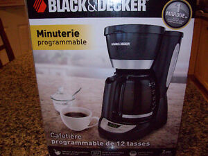 AS NEW BLACK AND DECKER COFFEE MAKER