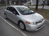 2006 Honda Civic $4,999 A/C climatiseur neuf et pneus neuf