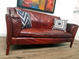 John lewis Halo Reggio medium leather sofa RRP £2500