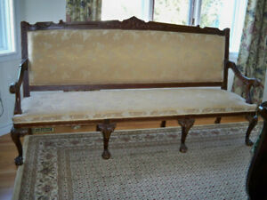 Elegant formal Italian sofa