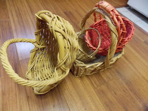 Lot of BASKETS - various shapes and sizes. Make me an Offer!