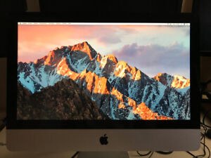 Apple IMac, MI-2010 21.5 pouces Intel  core i3 3.06 GHz  8 Go