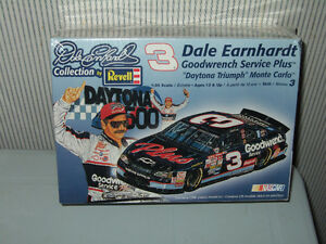 Two Dale Earnhardt Goodwrench Monte Carlo Model Car Kits