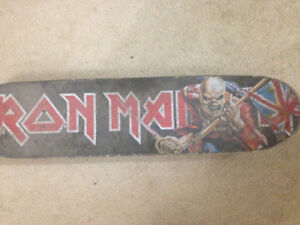 Enjoi Iron Maiden Deck Complete With Extra Pair Of Trucks