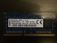 4gb meg ram laptop