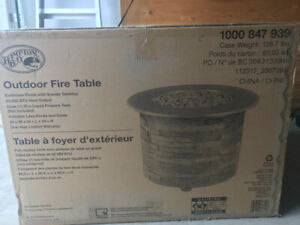 Firepit Table outdoor