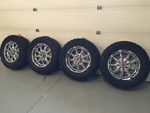 """XD Series 20"""" rims - Toyo open country tires"""