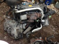 Y20DTH Astra 2.0 dti engine complete, fits zafira vectra