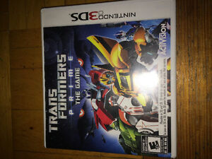 Trabsformers Prime The Game 3ds
