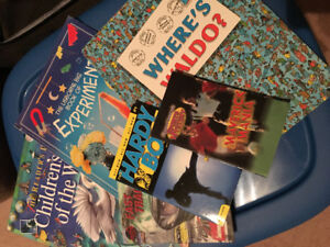 Collection of Educational Books & Novels