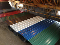 New Steel Roofing, Lots of Colours!