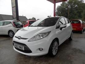 12 (62) FORD FIESTA 1.4 TITANIUM TDCI 5DR.... ONLY £20 ROAD TAX, ECONOMICAL.