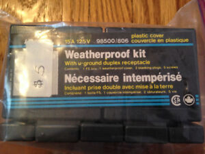 Outdoor Receptacle Weatherproof Kit