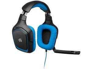 N Logitech G430 Over-the-Ear Stereo Gaming USB Wireld Headset (981-000536)