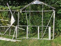 Aluminium greenhouse. 7x5